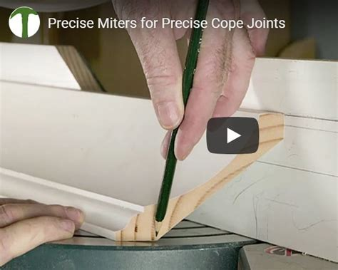 Cutting and Coping Crown Molding   JLC Online