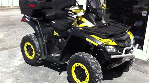 2010 CAN AM OUTLANDER 800 XXC, CAN-AM, BOMBARDIER, BRP