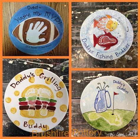 Father's Day Footprint Gift Ideas from the Kids - Crafty