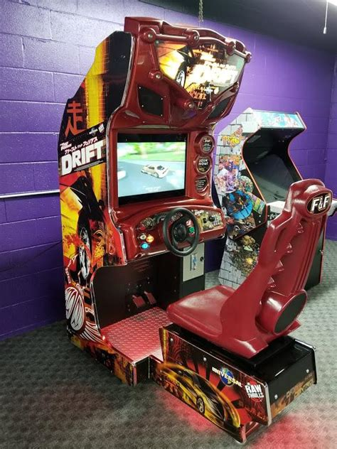 The Fast and The Furious Tokyo Drift Arcade Game   M&P