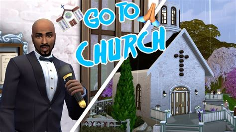 Church Mod // Mod Review - The Sims 4 - YouTube