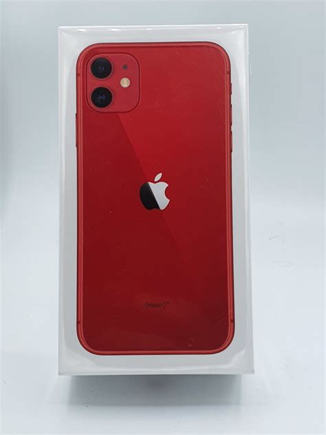 iPhone 11 Red 256GB | Blue Mobile Phone