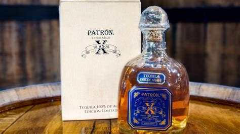 Patrón launches its oldest limited-edition tequila in the