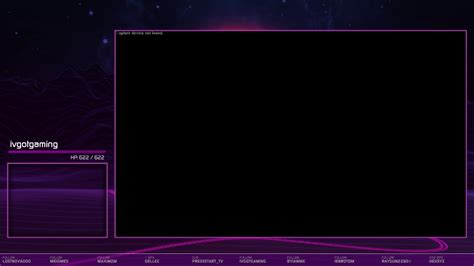 Custom CSS Event List for Twitch StreamLabs (Test code in