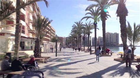 Playa del Cura Beach in Torrevieja on April 3rd 2013 - YouTube