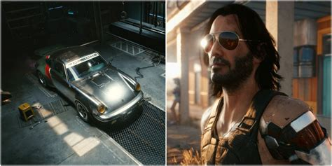 Cyberpunk 2077: How To Get Johnny's Porsche | Game Rant