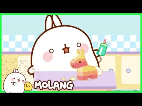 Molang A Friendly Rugby Game Cartoon For Kids - AgaClip