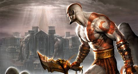 """Playstation 2 classic """"God of War 2"""" in 4K with Reshade"""