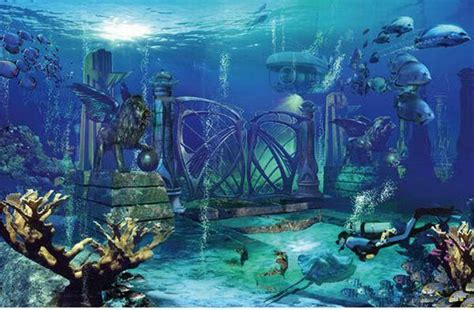 Legendary Lost City of Atlantis 'Discovered' in Southern